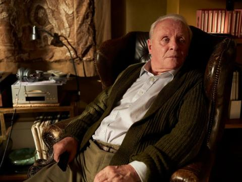 Anthony Hopkins en 'The Father'.