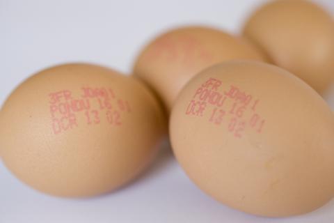 Fecha de caducidad de los huevos