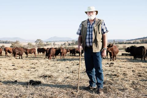 Una de las fotografías de Coenraad Heinz Torlage de su serie Youth Farmers.