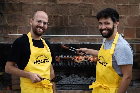 Marc Coloma y Bernat Añaños, cofundadores de Heura Foods.