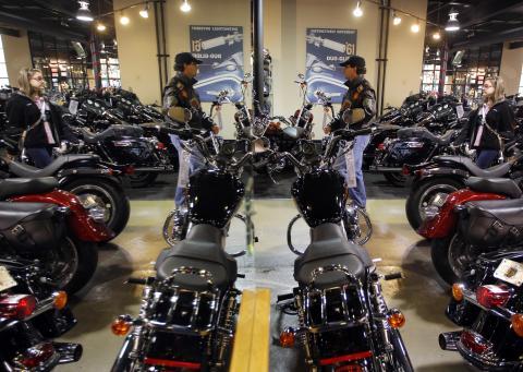 Harley Davidson, 2011.