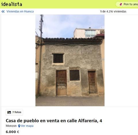 Huesca 6000 euros