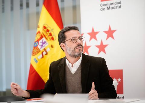 Javier Fernández-Lasquetty, consejero de Hacienda de la Comunidad de Madrid.
