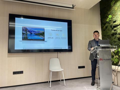 Jorge Cui Liu, jefe de Producto de Dispositivos Inteligentes de Huawei Consumo en España.