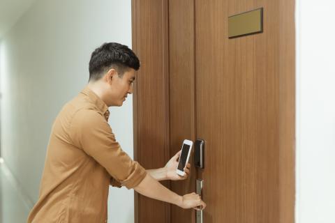 Lector NFC Puerta