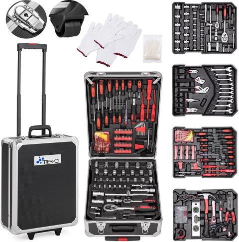 maletin herramientas Tresko 949 piezas