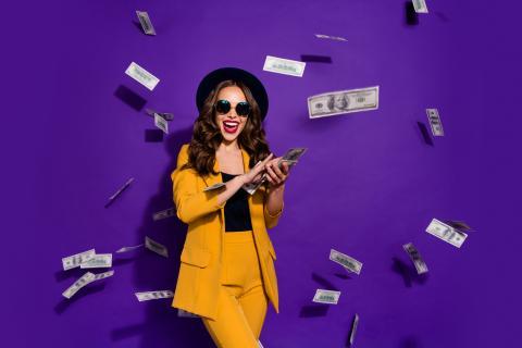 Millonaria chica rica dinero