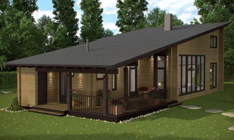 Modelo de casa prefabricada Londres 2 de Casas de Madera Daype (Casas de Madera Daype)