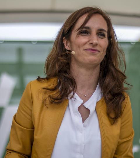 Mónica García, candidata de Más Madrid para la Comunidad de Madrid.