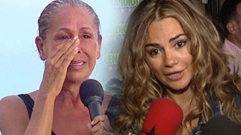 Montaje con Isabel Pantoja y su sobrina, Sylvia Pantoja (Telecinco)