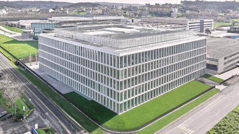 Nuevo edificio de Inditex
