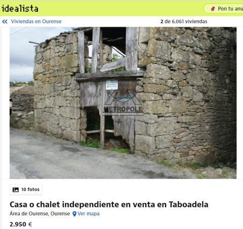 Ourense 2950 euros