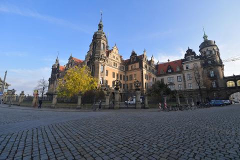 Imagen del Palacio de Dresde (Alemania).