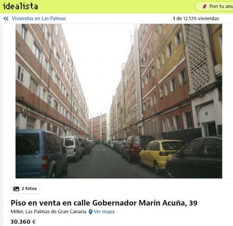 Las Palmas 30360 euros