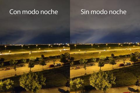 POCO F3 modo noche