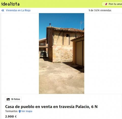 La Rioja 2900 euros