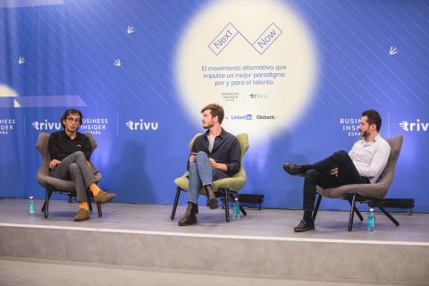 Rodrigo Miranda, Pablo González y Luis Díaz en NextNow.