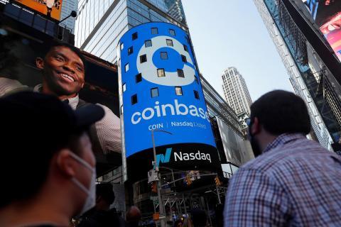 Coinbase fue una de las grandes salidas a bolsa del 2021.