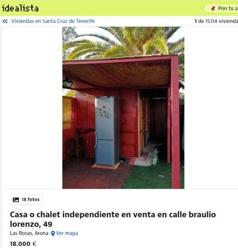 Santa Cruz de Tenerife 18000 euros