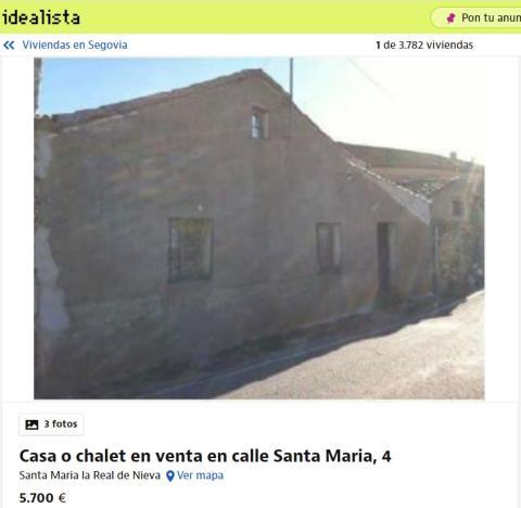 Segovia 5700 euros