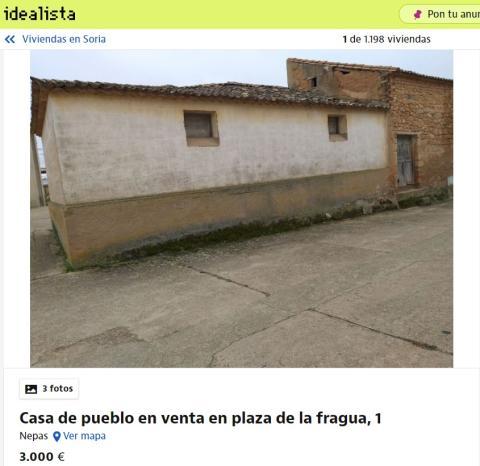 Soria 3000 euros