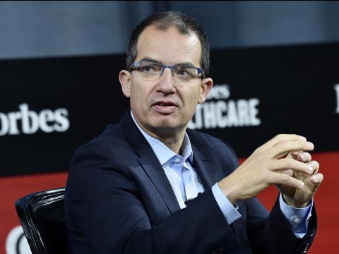El CEO de Moderna, Stephane Bancel asiste a la Cumbre de Salud 2019 de Forbes en el Jazz at Lincoln Center, el 05 de diciembre de 2019 en la ciudad de Nueva York, EEUU.
