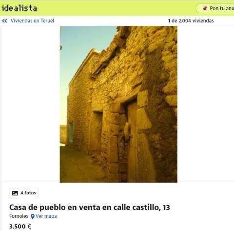 Teruel 3500 euros