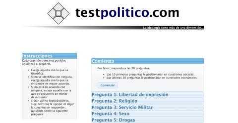 Test politico