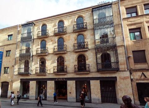 Tienda Zara en Salamanca