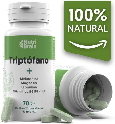 Triptofano y melatonina suplemento