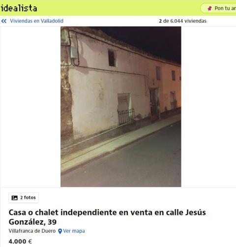 Valladolid 4000 euros