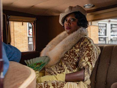 Viola Davis en 'La madre del blues'.
