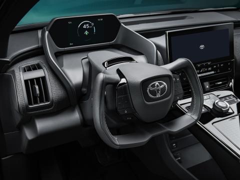 Volante del Toyota bZ4X