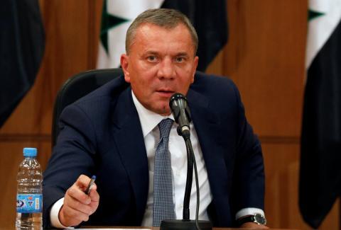 Yury Borisov, viceprimer ministro ruso.