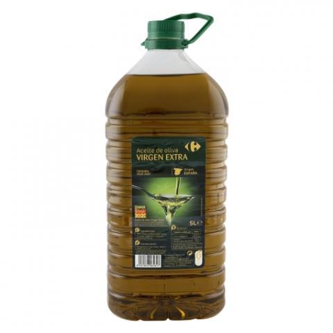 Aceite de oliva virgen extra de Carrefour