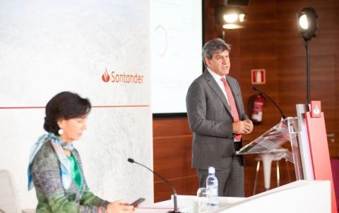 Acto de presentación de los resultados del Banco Santander de 2020 (Banco Santander)