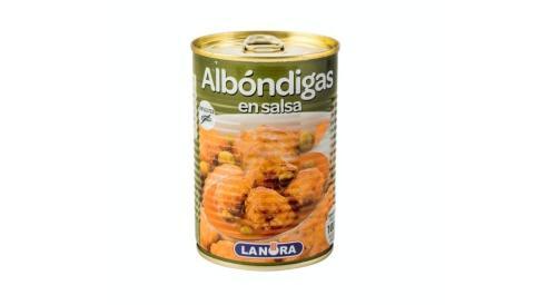 Albóndigas en Salsa de Mercadona.
