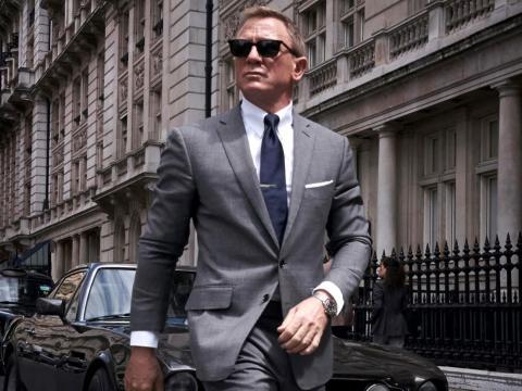 El actor Daniel Craig en el papel de 'James Bond'.