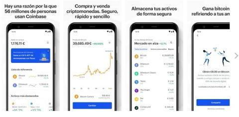 App de Coinbase.