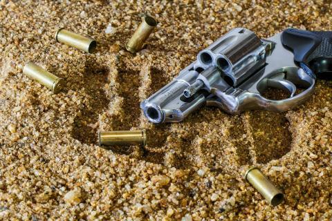 Armas de fuego asesinato pistola