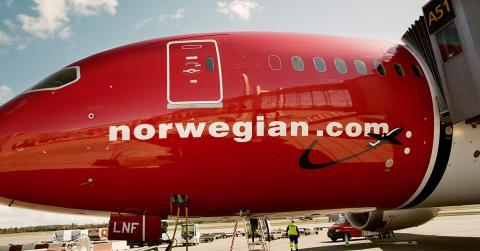 Avión de Norwegian (Norwegian)