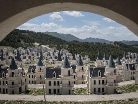Burj Al Babas pueblo fantasma en Turquia