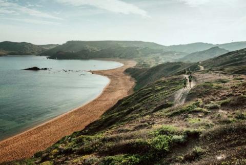 Playa de la Cavallería, Menorca.