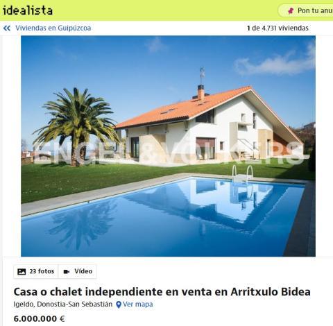 Casa en Guipuzcoa