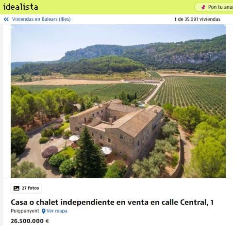Casa en Islas Baleares