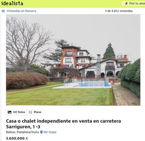 Casa en Navarra
