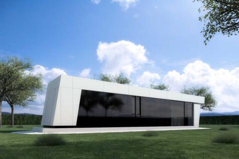 Casa prefabricada de Joaquín Torres. Modelo Combi.