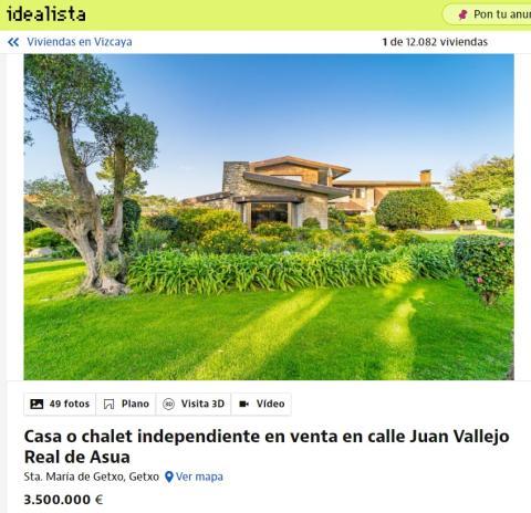 casa en Vizcaya