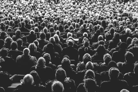 Cine audiencia multitud