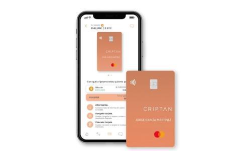 Criptan Card, de Criptan y Mastercard (Mastercard)